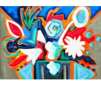 Floral Moderno - A/S/T 50 x 60